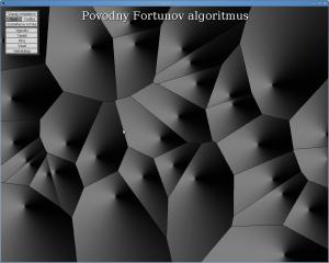 Voronoiov diagram